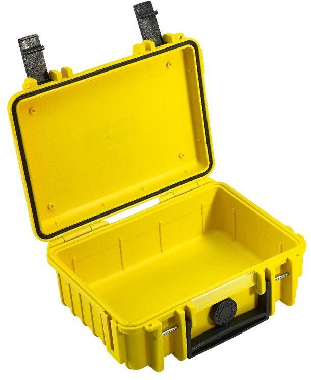 Walizka transportowa B&W outdoor.cases Typ 500 bez wypełnienia Żółta - WYSYŁKA W 24H