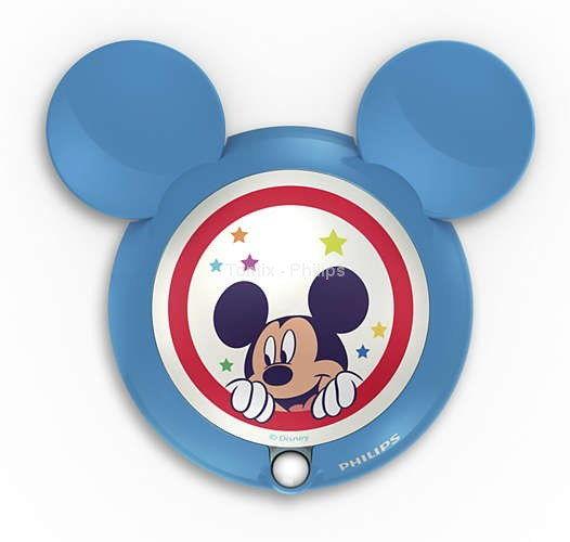 Philips Disney Lampka LED z Czujnikiem Ruchu Mickey Mouse 71766/30/16 ------ WYSYŁKA 48H ---