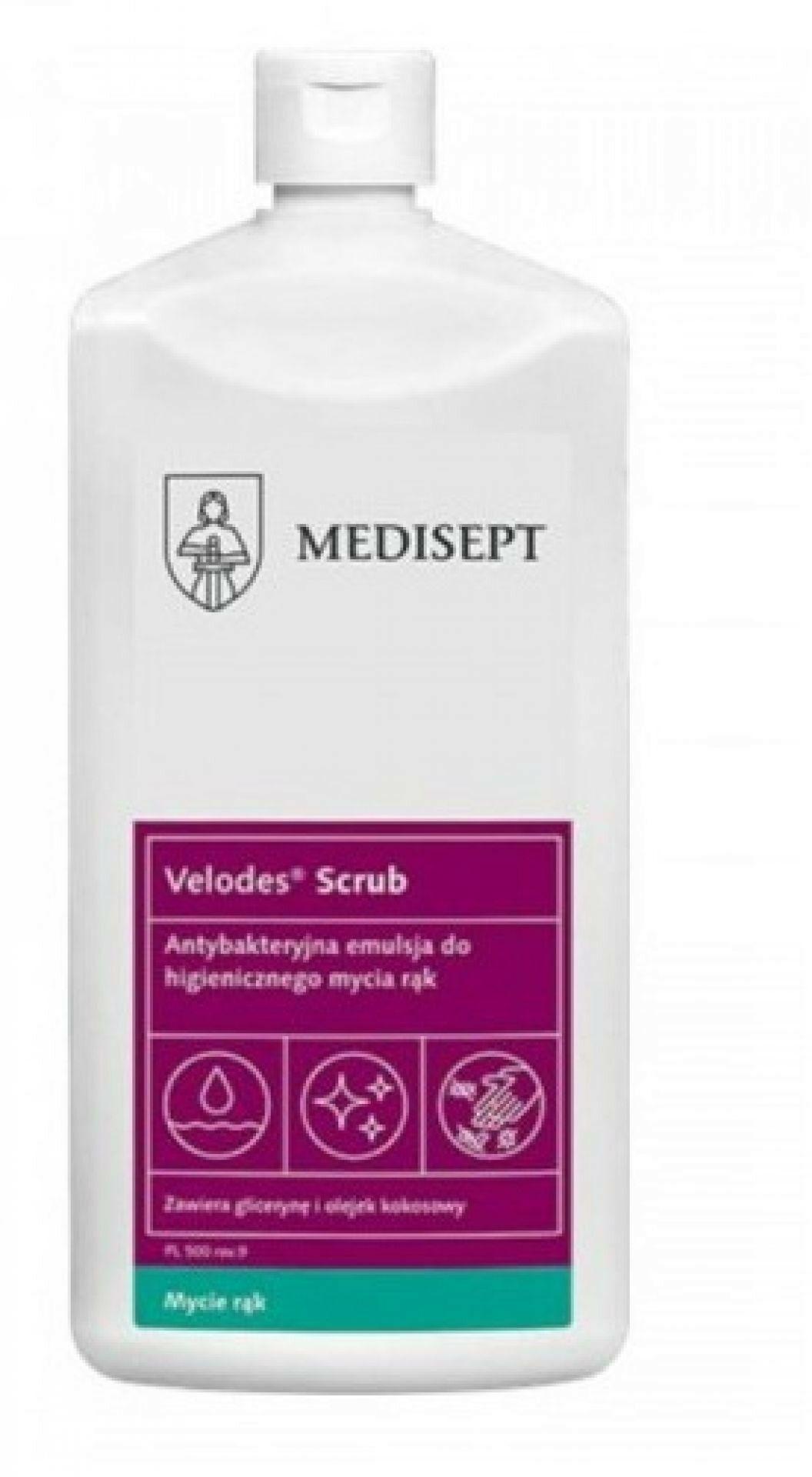 Velodes Scrub Medisept 500ml - emulsja
