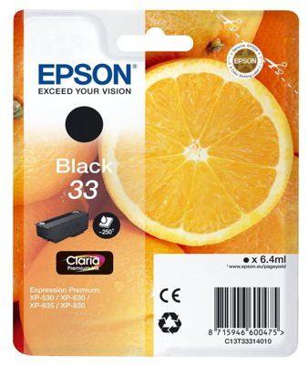 Wkład atramentowy EPSON 33 Czarny