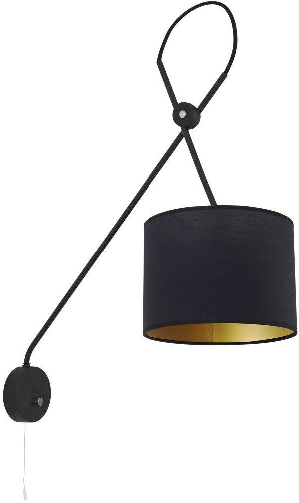 Kinkiet Viper 6513 Nowodvorski Lighting nowoczesna ruchoma oprawa w kolorze czarnym