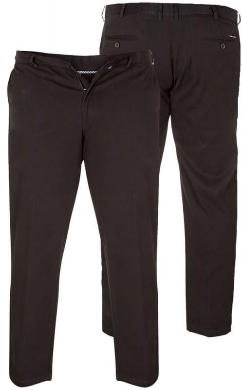 BRUNO-D555 Duże Spodnie Męskie Czarne