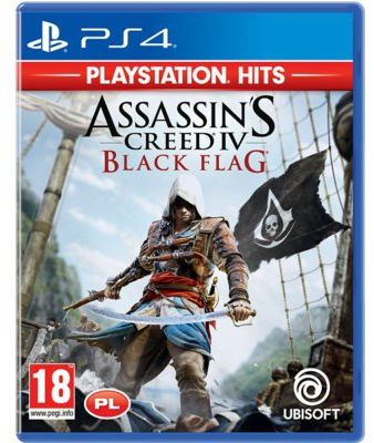 Gra PS4 HITS Assassins Creed IV Black Flag