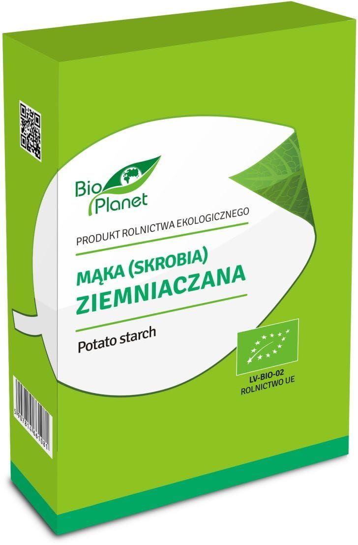 Skrobia ziemniaczana bio 500 g - bio planet