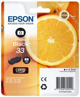 Wkład atramentowy EPSON 33 Czarny fotograficzny