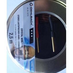 OEHLBACH CRISTAL WIRE B40 2,5mb 2x1,5 mm2 - ZOBACZ NASZE 5 TYS ZESTAWÓW