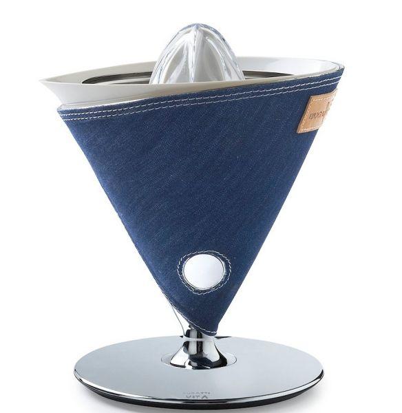 Casa Bugatti VITA INDIVIDUAL Wyciskarka do Cytrusów - Jeans Denim
