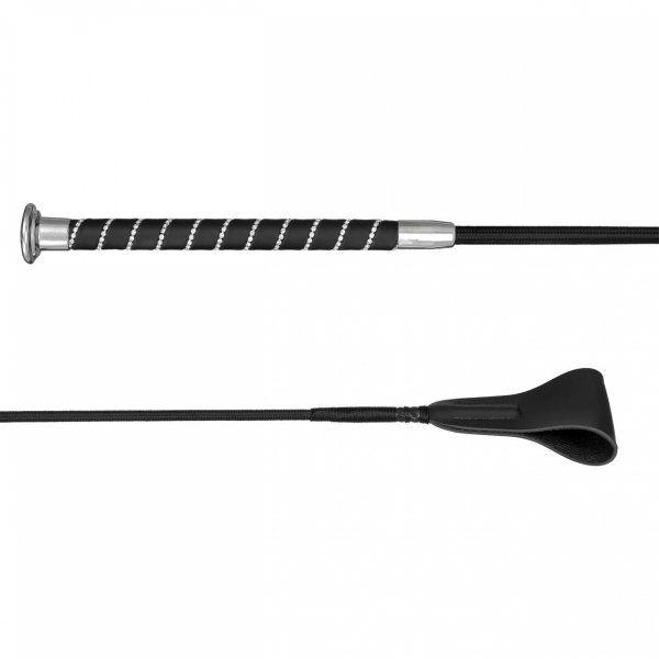 Bat skokowy GLOSSY CRYSTAL - START - black/chrome