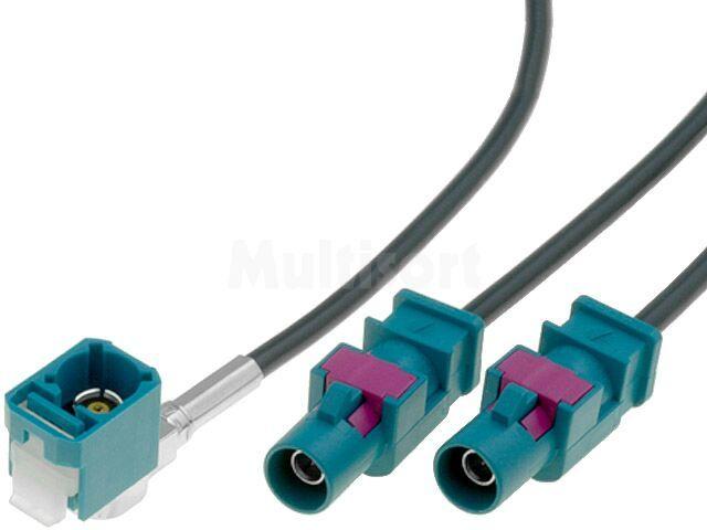 Adapter antenowy Fakra VW MFD2 RNS-300
