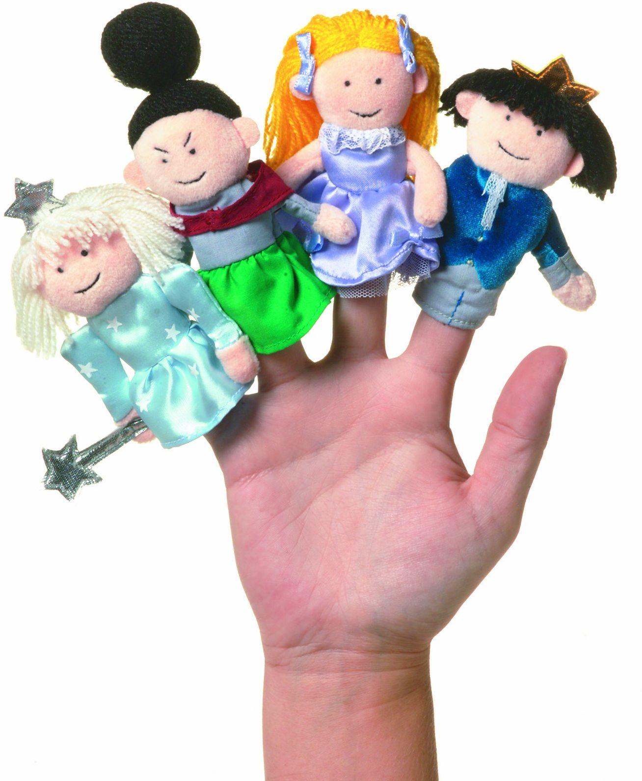 Manhattan Toy - Kopciuszek palec laleczki, 10 cm