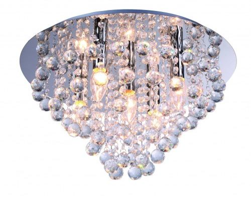 Lampa sufitowa plafon kryształki LONDON CRYSTAL 627705-06 REALITY