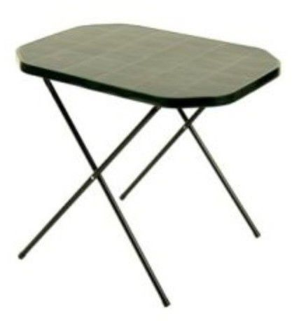 Stół kempingowy 53 x 70 cm zielony