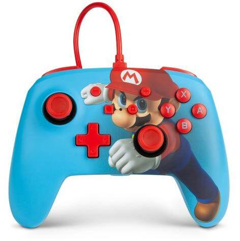 PowerA Switch Pad przewodowy Super Mario Punch - szybka wysyłka!