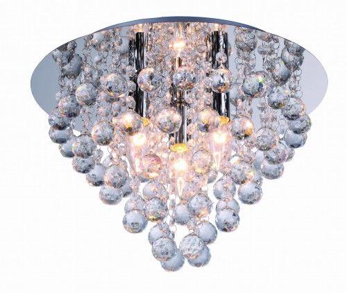 Lampa sufitowa plafon kryształki LONDON CRYSTAL 627703-06 REALITY