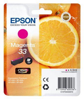 Wkład atramentowy EPSON 33 Magenta