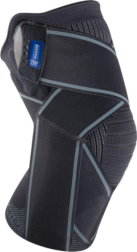 ULTRA-LEKKA orteza kolana ze wsparciem więzadeł - Oddychająca Thuasne (LIGASTRAP genu)