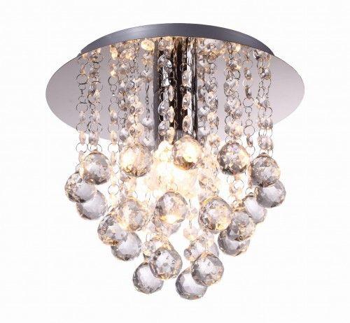 Lampa sufitowa plafon kryształki LONDON CRYSTAL 627701-06 REALITY