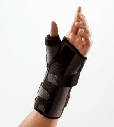 Francuska ORTEZA unieruchamiająca nadgarstek i kciuk - statyczny tutor - Thuasne (Ligaflex Manu)