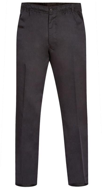 BASILIO-D555 Duże Spodnie Męskie Czarne