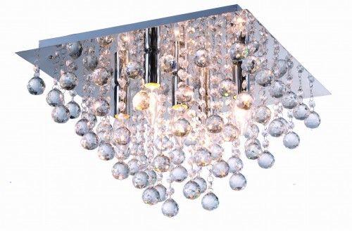 Lampa sufitowa kryształki LANCASTER CRYSTAL 627805-06 Reality