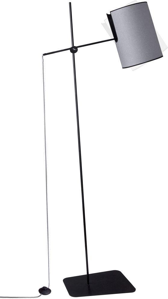 Lampa podłogowa Zelda 6010 Nowodvorski Lighting grafitowa oprawa stojąca w stylu design