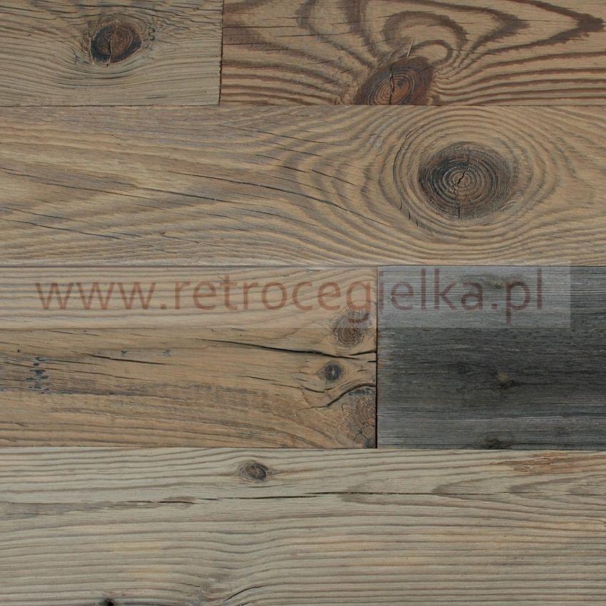 Retro drewno - deski, pióro wpust