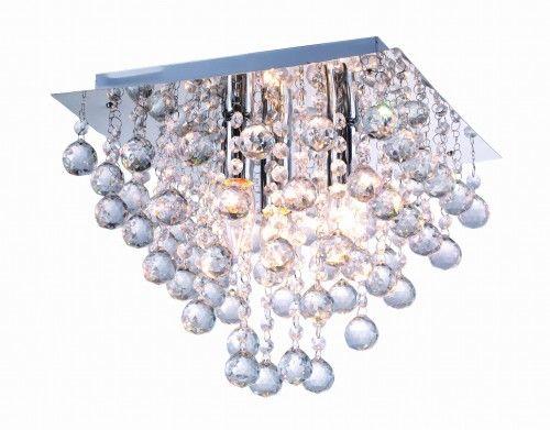 Lampa sufitowa plafon kryształki LANCASTER CRYSTAL 627803-06 REALITY