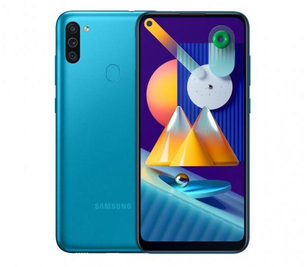 Samsung Galaxy M11 SM-M115 3/32GB Niebieski SM-M115FZKNEUE