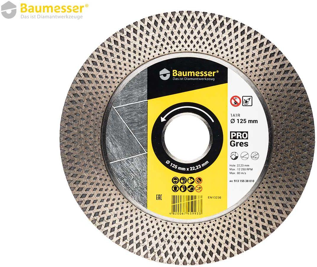 Baumesser PRO Gres Tarcza Diamentowa 125mm