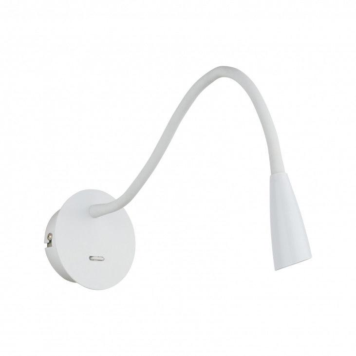 Kinkiet Paola WB88779-WH Italux biała lampa na ścianę do czytania