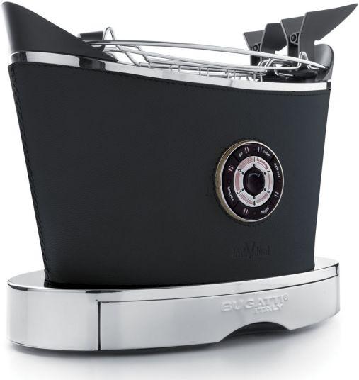 Casa Bugatti VOLO INDIVIDUAL Toster - Leather (Skóra) - Czarny