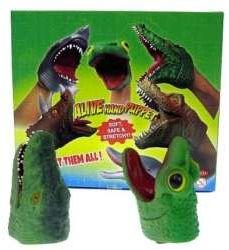 Pacynka gumowa 14cm Krokodyl /Żaba (HAB049)