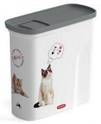 Curver Pet Life Pojemnik na kocią karmę 1kg