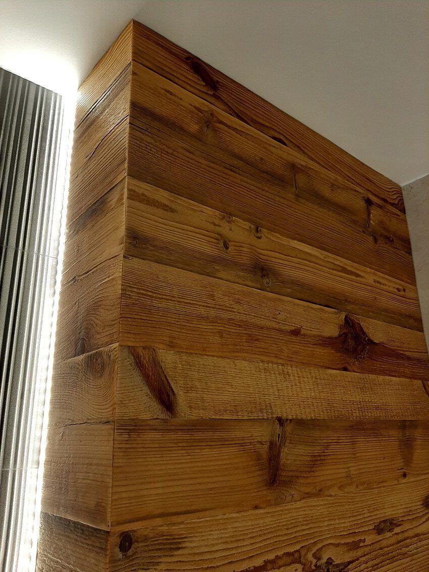 Retro drewno - deski, lamelki, odcienie brązu