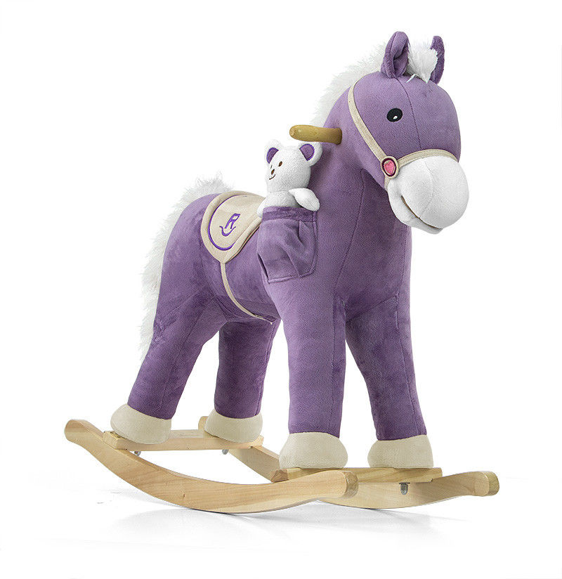 Koń Pony Purple