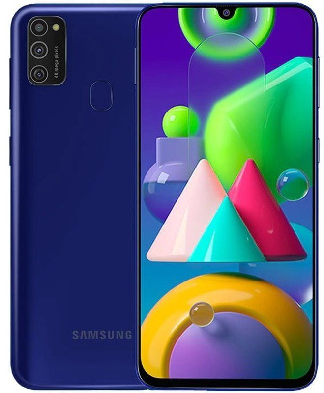 Samsung Galaxy M21 64GB Dual SIM Niebieski SM-M215FZKUXEO