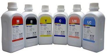 Premium tusz zamienny 6x100ml INK-MATE UV-R barwnikowy do Epson seria P/R/RX/XP/L