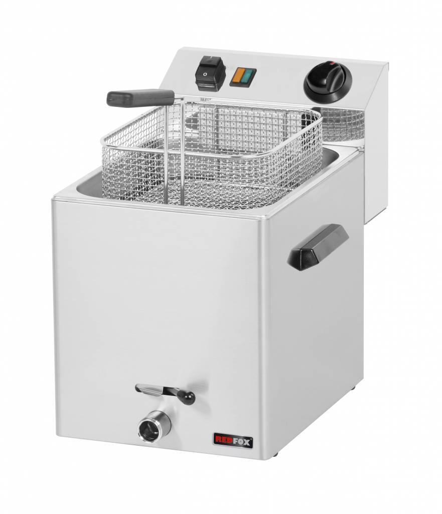 Frytownica elektryczna z kranem 8L 3000W 270x420x(H)370mm