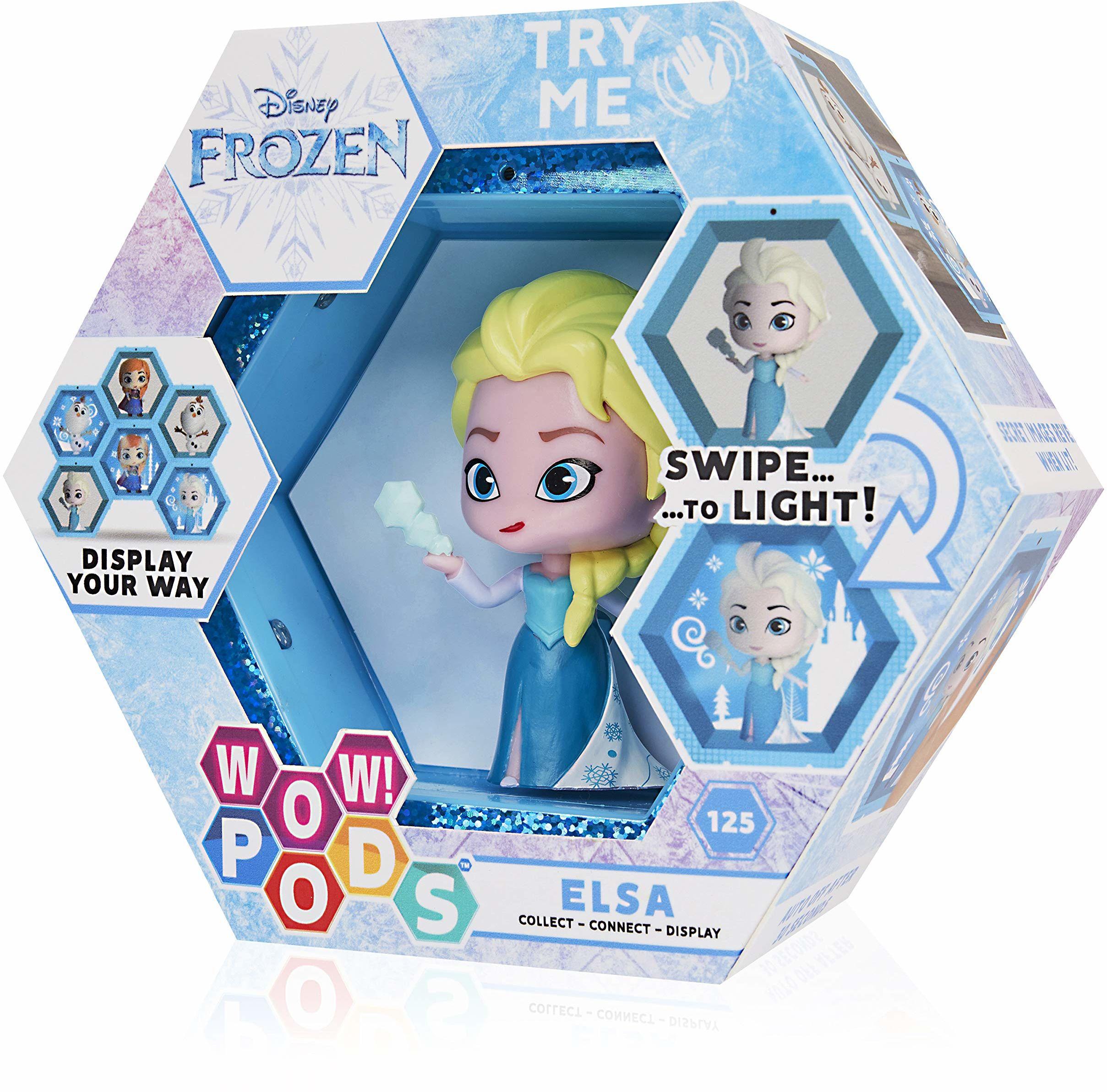 WOW! PODS Disney Frozen Elsa kolekcjonerskie podświetlane figurki