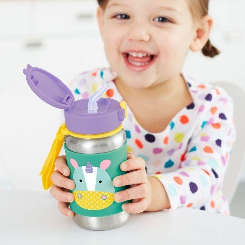 Stalowy bidon Jednorożec Zoo 252518-Skip Hop, akcesoria dla dzieci