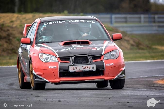 Jazda Subaru Impreza WRX Tor Poznań