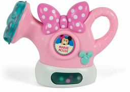 Clementoni 17336 Clementoni-17336-Disney Minnie konewka interaktywna, edukacyjna i dźwiękowa zabawka dla dziecka od 6 miesięcy i starszych baterii w zestawie, wielokolorowa