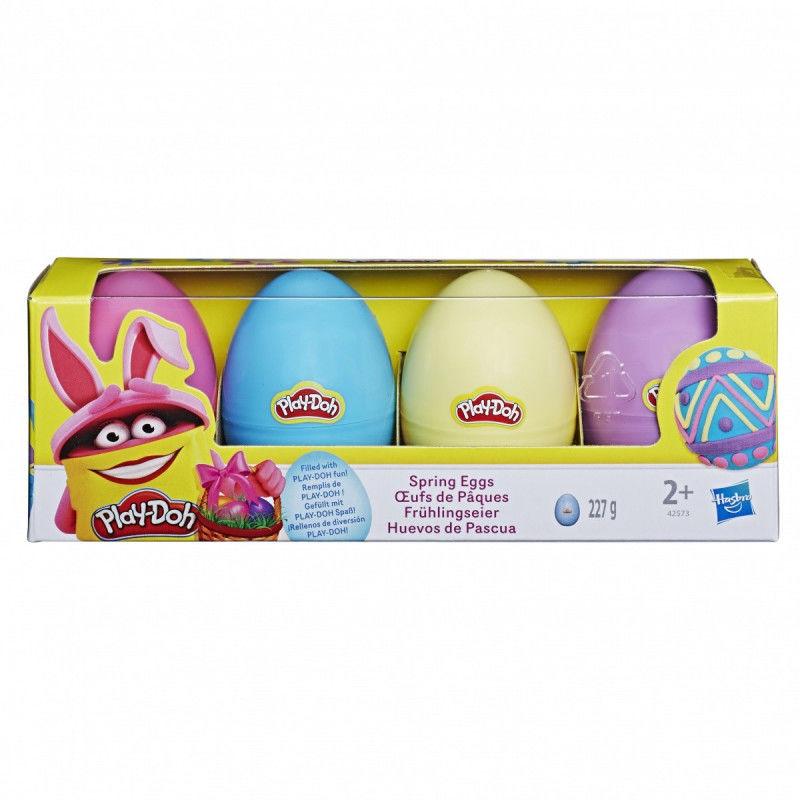 Masa plastyczna PlayDoh Jajka 4-pak