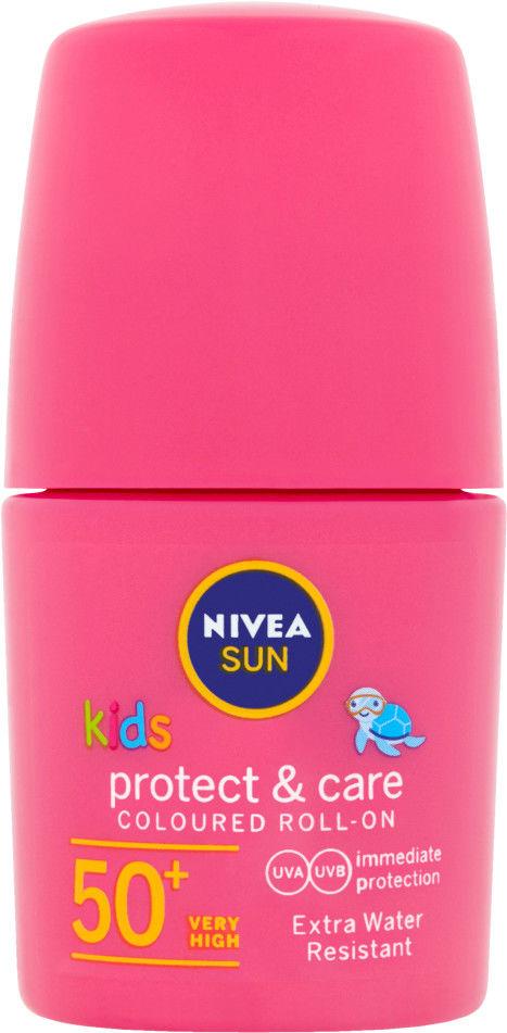 Nivea Sun Kids mleczko wodoodporne do opalania dla dzieci SPF 50+ 50 ml
