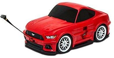 Ford Mustang GT - żółty - Walizka samochód Welly Ridaz