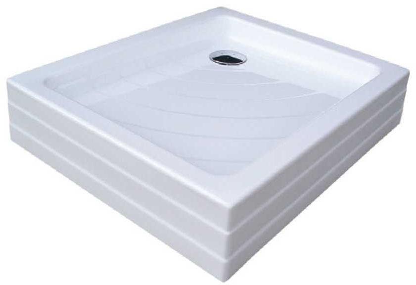 Ravak brodzik prostokątny akrylowy ANETA PU 75x90 cm A003701120