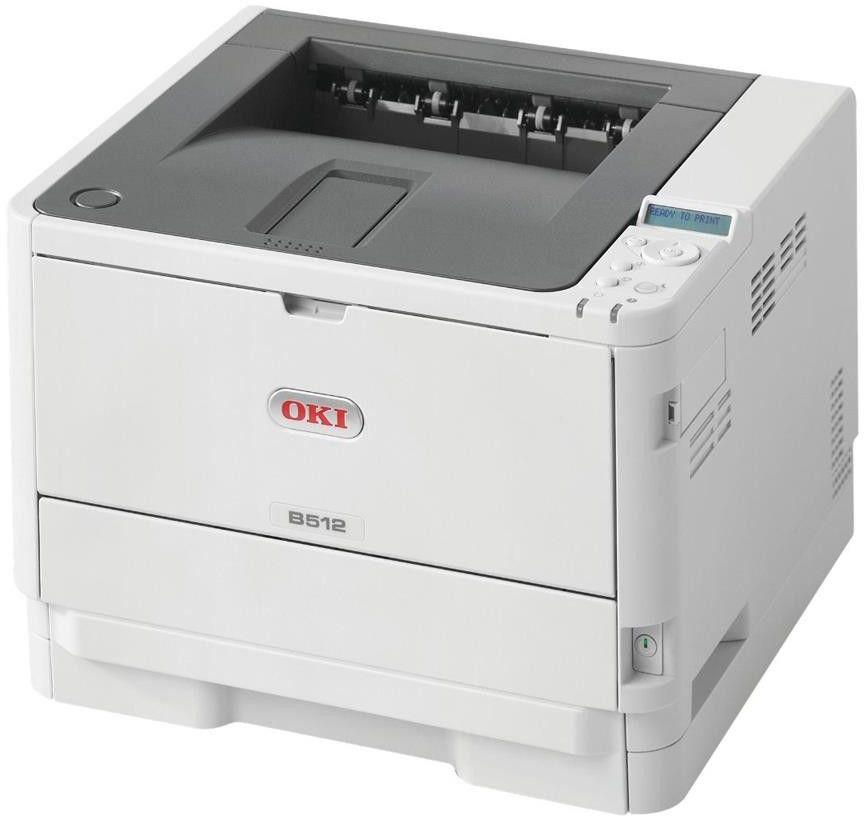 Drukarka laserowa mono Oki B512dn (45762022)