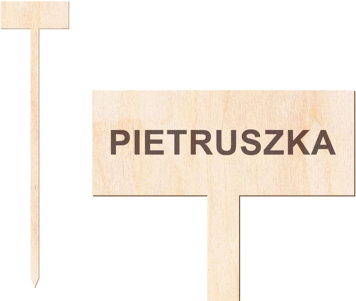 Tabliczka do oznaczania roślin Pietruszka - 1 szt.