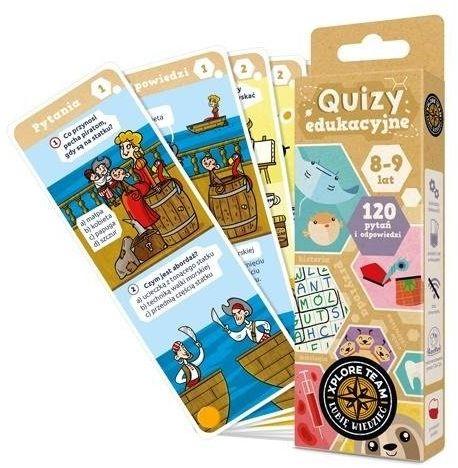 Xplore Team Quizy dla dzieci 8-9 lat