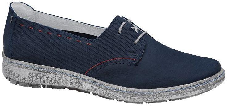 Półbuty KACPER 2-5237-156P Granatowe Sneakersy damskie